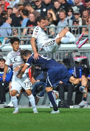 FC St. Pauli - DSC Arminia Bielefeld am 25. Juli 2015 (© MSSP - Michael Schwartz)