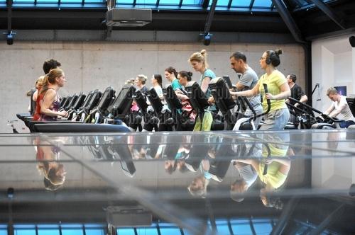 Eroeffnung Fitness First-Club Stephansplatz in Hamburg am 03. April 2018 (© MSSP)