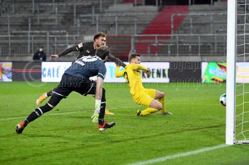 FC St. Pauli - VfL Osnabrueck am 27. November2020 (© MSSP - Michael Schwartz)