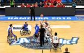 Japan - Italien bei der Rollstuhlbasketball-WM 2018 in Hamburg am 17.08.2018 (© MSSP - Michael Schwartz)