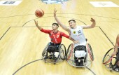 Deutschland - Iran bei der Rollstuhlbasketball-WM 2018 in Hamburg am 18.08.2018 (© MSSP - Michael Schwartz)