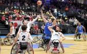 Japan - Brasilien bei der Rollstuhlbasketball-WM 2018 in Hamburg am 20.08.2018 (© MSSP - Michael Schwartz)