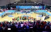 Medal-Ceremony Men bei der Rollstuhlbasketball-WM 2018 in Hamburg am 26.8.2018 (© MSSP - Michael Schwartz)