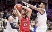 Basketball Supercup Deutschland - Italien am 08. September 2018 (© MSSP - Michael Schwartz)