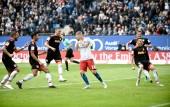 Hamburger SV - SSV Jahn Regensburg am 23. September 2018 (© MSSP - Michael Schwartz)