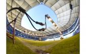 Rasenpflege im Volksparkstadion am 25. September 2018 (© MSSP - Michael Schwartz)