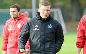 HSV-Trainer Hannes Wolf am 24. Oktober 2018 (© MSSP - Joe Noveski)