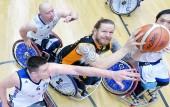 BG Baskets Hamburg - Hannover United am 22. November 2018 (© MSSP-Sportphoto)