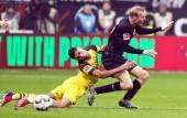 Eintracht Frankfurt - Borussia Dortmund am 02. Februar 2019 (© MSSP - Tom Kohler)