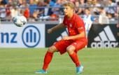 Jann-Fiete Arp im Testspiel des FCB am 8. Agust 2019 (© MSSP - Michael Hundt)