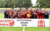 HFV-Pokalfinale FC Eintracht Norderstedt - TSV Sasel am 22. August 2020 (© MSSP - Michael Schwartz)
